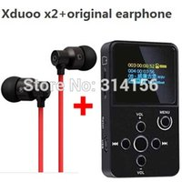 ape digital - with strong bass earphone gift XDUOO X2 HIFI MP3 digital Music Player with OLED Screen MP3 WMA APE FLAC WAV Authorize Agent