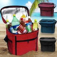beer lunch - D can lunch cooler bag with aluminium foil for picnic cooler bag foil picnic bag bear beer bag