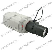 Cheap High Resolution ZOOM Sony CCD 600TVL Vari Focal 6-60mm Auto IRIS Box Camera D-WDR