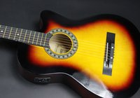 acoustic guitar manufacturers - 38 inches of the original folk EQ acoustic guitar electric box guitar manufacturers fade to practice piano students