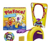 Wholesale Running Man Pie Face Board Games Pie Face Cream On Her Face Hit The Send Machine Paternity Toy DHL Free sets