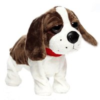 baby gift station - 2016 Baby Kid Love Toy Sound Control Electronic Dog Interactive Electronic Animal Pet Call Station Walk Toys Dogs Creative Gifts