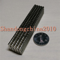 Wholesale In Stock Strong Round NdFeB Magnets Dia x2mm N35 Rare Earth Neodymium Permanent Craft DIY Magnet