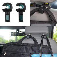 Wholesale Car Styling Environmental Multifunctional Vehicle Seat Back Hook On board Sundry hook Internal Accessories