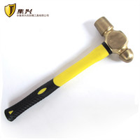 ball pein hammers - 0 kg lb Copper Alloy Ball Pein Hammer With Plastic Handle Non sparking Tools Copper Hammers