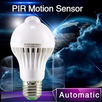 ac auto body - PIR Motion Sensor Lamp w Led E27 Bulb w w Auto Smart Led PIR Infrared Body Lamp With The Motion Sensor Lights