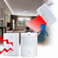 Wholesale New To Pir Infrared Sensors Wireless Doorbell M Remote Control Alarm Detector For Home Office Hotels Jewelry Store Etc