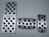 accord gas - aluminum gas fuel pedal foot rest pedal break pedals for honda accord th