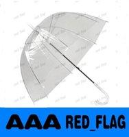 Wholesale 34 quot Big Clear Cute Bubble Deep Dome Umbrella Gossip Girl Wind Resistance LLFA200