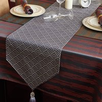 Wholesale The court and high grade simple modern thick cloth tablecloth table round table cloth tablecloth Hotel Hotel