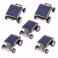 Wholesale LJJG347 Solar Toy Car Educational Gadget Children Gift Mini Solar Toy Car For Kids Power Amazing