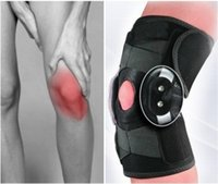 Wholesale Double Metal Hinged Full Knee Support Brace Protection Sport