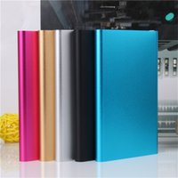 Wholesale 8800mAh Powerbank Ultra Thin Slim Power Banks for Mobile Phone Tablet PC External Battery Pack Backup Portable Dual USB Charge YellYouth