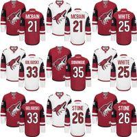 alex smith jersey - Arizona Coyotes Jersey Men s Jamie Mcbain Ryan White Michael Stone Alex Goligoski Louis Domingue Mike Smith Hockey Jerseys