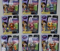 big pet shop - hasbro toy Littlest Pet Shop Hasbro PVC Figure toy doll Hasbro figures Hasbro pet Christmas kids Toy gifts