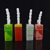Concentré de plate-forme pétrolière Prix-Verre céréales Box Dab Oil Rigs eau Bongs liquide Sci verre de jus Boîte Conduites d'eau concentré à thème Rigs narguilés