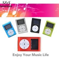 Wholesale 2016 Mini Clip Design Digital LED Light Flash MP3 Music Player With TF Card Slot Colors Optional FM Radio Support GB