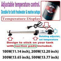 Wholesale Submersible Automatic Aquarium Fish Tank Heater W W W W set temperature the temperature simply precisely
