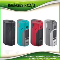 Wholesale Authentic Wismec Reuleaux RX2 TC Mod W W Replaceable Back Cover for Two Three Cells genuine RX23 Box Mod