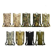 Wholesale Multicolor L Hydration Packs Tactical Water Bag Assault Backpack Hiking Camping Pouch Backpacks Shoulder Bag