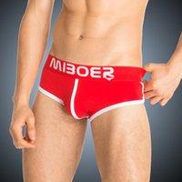 athletic boxer briefs - men s sexy comfortable cotton briefs fashion athletic design big bulge underwear
