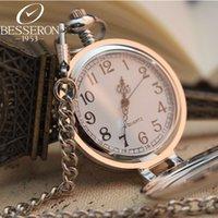 antique clock shop - Quartz Pocket Watch shop for Men Women GR Hot Sale Steampunk Skeleton Male Clock Transparent Quartz Open Face Retro Vine Pendant Gift