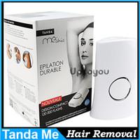 Wholesale Tanda Me Chic Elos Me system Electric laser Hair Removal k Pulses Tanda Me Chic body Epilator Light VS Homedics Tanda ME TOUCH