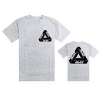 color flame - Palace Skateboards summer trasher t shirt Magazine Flame hip hop tshirts skateboard tshirt