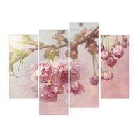 art pastel painting - LK4224 Panel Oil Painting Pastel Flowers Wall Art Painting Flower Pictures Print On Canvas Oil Painting For Sale For HomeOffice Bed Room S