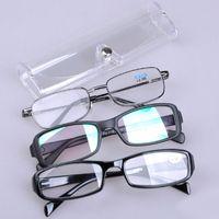 Wholesale Fashion Durable Transparent Glasses Cases Fashion Reading Glasses Boxes Glasses Accessories Drop Shipping