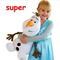 Wholesale Olaf Plush Doll Toy cm cm cm Classic Olaf Movie and TV Dolls Soft Stuffed Animals Snowman Olaf Toys Kids Birthday Gift