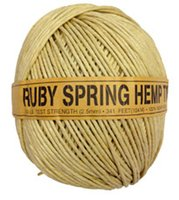 Wholesale nature color or dyed color lbs g Hemp Twine for diy Craft with diameter mm ply ruby spring ft from China