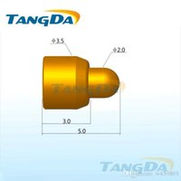 Wholesale Tangda pogo pin connector DHL EMS D3 mm A Mobile phone battery connector Charging pin Spring thimble Current pin Contact pin