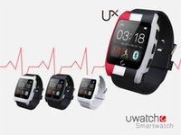 Wholesale new UX heart rate monitorring smart watch G magsensor gravity sensor android smartwatch phone sports bluetooth wristwatch