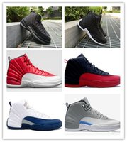 Wholesale hot AIR Retro Wool Black Grey FLU game TAXI French blue gym red wolf Grey Playoff Gamma Blue GS Barons sale