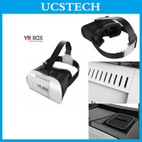 Wholesale 2016 Professional Manufacturer Google Cardboard Plastic VR BOX II Version VR Virtual Reality D Glasses Smartphone inch inch