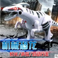 battery operated dinosaur toys - Electric Toy Dinosaur Large Glowing Simulation Model of Music Children Can Walk Tyrannosaurus rex