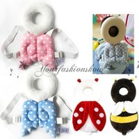 Wholesale Baby Head protection pad Toddler headrest pillow baby neck Cute wings nursing drop resistance cushion Z501