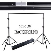 background backdrop stand - Photography Equipment professional M Aluminum Background Stand Backdrops Support System studio with carry Bag for Photo