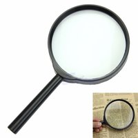 Wholesale X mm Hand Held Reading Magnifier Magnifying Glass Lens Jewelry Loupe Zoomer