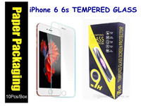 Wholesale 2 D H Tempered Glass Film Explosion Proof for iPhone s plus s c SE s Samsung S7 S6 Note5 S5 S4 ON5 J5 Note7 with Retai Box