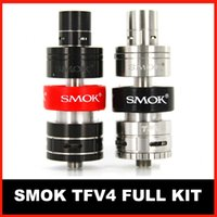 best refills - SMOK TFV4 Atomizer tank TFV4 Full Kit Top Refilling vs Smok TFV4 Single Kit best quality factory large stock free DHL