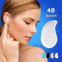 Wholesale Smallest Wireless Invisible Bluetooth In ear S530 Headset Hands free Calling Mini Earphones Earbuds Stereo Music With Retail Box
