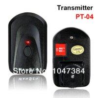 Wholesale PT NE channels Wireless Radio Flash Trigger with receivers for canon nikon camera Photo Studio Accessories