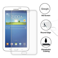 Wholesale Qiaogle Anti explosion Tempered Glass Screen Protector Ultra Hard For Samsung Galaxy Tab SM T210 SM T211 Premium Screen Protector