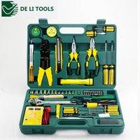 Wholesale Excellent Quality DL1050 a set DELI Household multifuncional repair tool set Best Promotion
