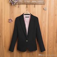 Wholesale NEW Blazer Women Suit Blazer Foldable Brand Jacket Made of Cotton Spandex with Lining Vogue Refresh Blazers