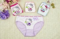Wholesale Hot sale Hello Kitty Kids Baby Girls Boxer Briefs Cotton Top Quality Underpants Soft Breathable Shorts for T