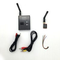 aerial video systems - New CH mW TS5858 Wireless AV Transmitter CH G RC832 Receiver for FPV Aerial Photography Car Video Backview System