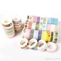 Wholesale 5pcs Bag cm M DIY paper Sticky Adhesive Sticker Decorative Adhesive Tape MD014